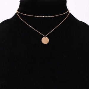 Jewelry - 4/$25 Layered Beads and Coin Necklace